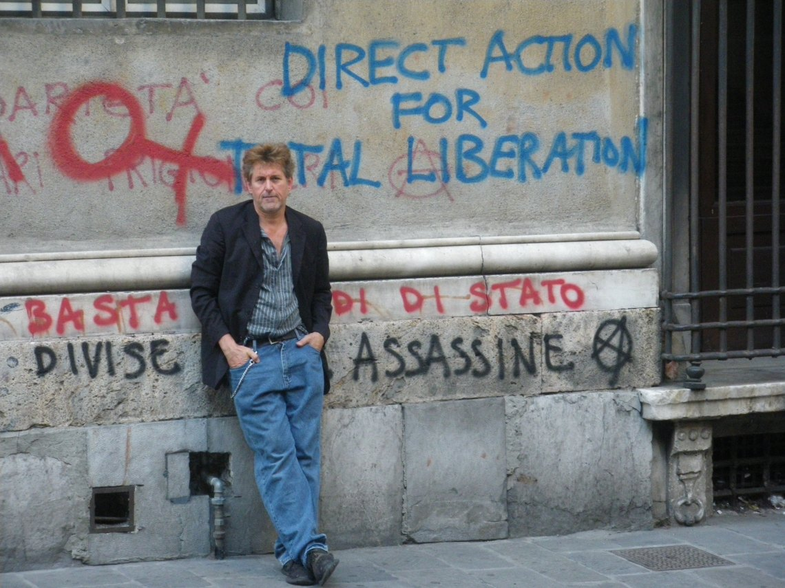 Steve Best in Genoa July 10